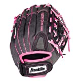 Franklin Sports Softball Glove - Left and Right Handed Softball Fielding Glove - Windmill Fastpitch Pro Series - Adult and Youth Fielding Glove - 11 Inch Right Hand Throw - Pink