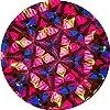schaepers kaleidoskope Caleidoscopio di Rame con Una bilia di Vetro Colorata, 10 cm di Lunghezza #1