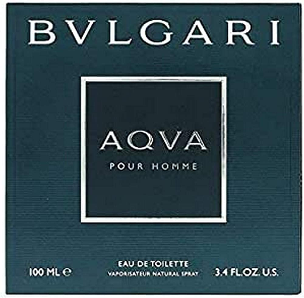 Bvlgari aqva pour homme, eau de toilette, uomo, 100 ml BV23M
