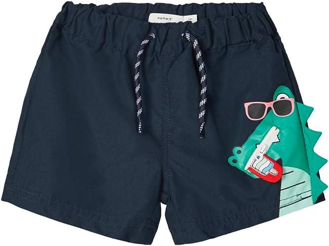 NAME IT Kinder NMMZIKKAZ Schwimm Shorts Badehose