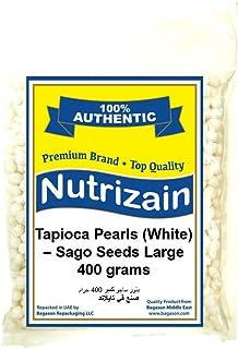 Nutrizain Tapioca Pearl Sago Seed, Large, 400 gm