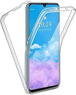 Reshias Funda para Huawei P Smart S, 360°Full Body Protección Suave TPU Silicona Delantero PC Dura Atrás Transparente Flip...