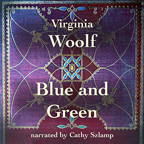 Blue and Green audiobook cover art
