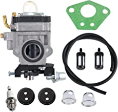HIPA 300486 Carburetor with Repower Tune-Up Kit for Earthquake E43 E43CE E43WC Auger MC43 MC43E MC43CE MC43ECE MC43RCE Tiller MD43 WE43 WE43E WE43CE Edger
