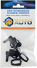 Mean Mug Auto 1055-232314D (Two) Front Windshield Washer Nozzles - For: Jeep Grand Cherokee - Replaces OEM #: 55079049AA