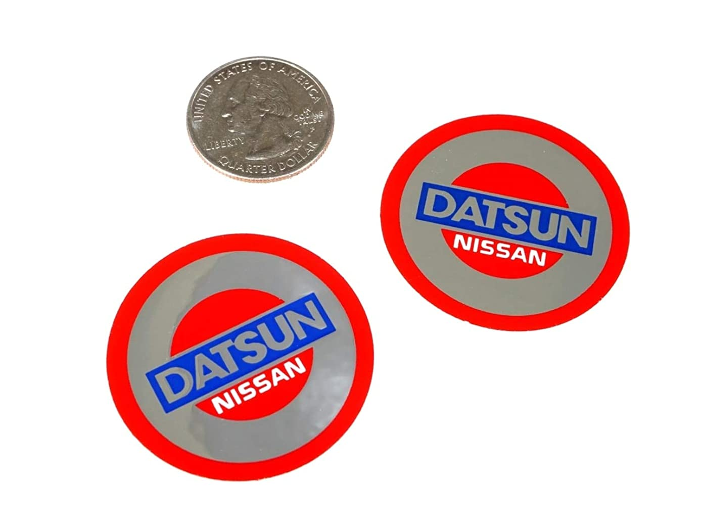 ZSPEC Vintage Style Decals, Printed on Mirror-Silver: for Datsun Enthusiasts