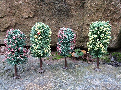 Original Jordan Bäume Obstbäumemit HO Füßen 10-12cm 4er Set Top Qualität 6B
