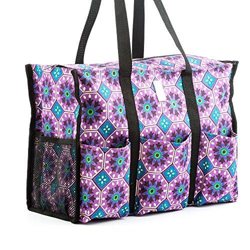 Nurse Bag - Perfect Nursing Tote for Nurses, Nursing Students (Morocco Tiles)
