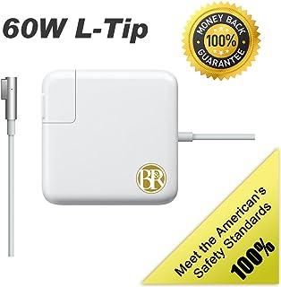 HCMA【PSE認証】アップル Macbook用 互換 電源アダプタ 充電器 60W L型 高品質 【1年保証】