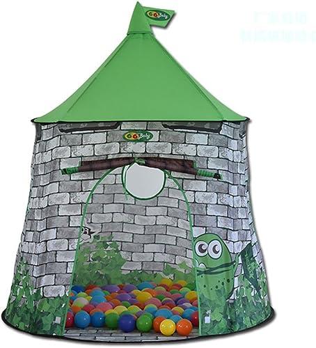 Kinder Spiel Zelt Grün Indoor Und Outdoor Für Jungen Und mädchen Spielzeug Strand Zelt Spiel Haus (Ausgeschlossen Ocean Ball)