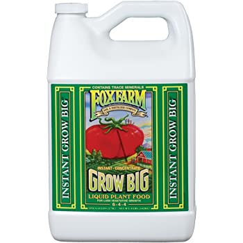 FoxFarm Grow Big Soil Liquid Concentrate Fertilizer, 1 Gallon