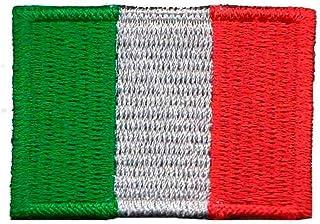 Patch Bordado - Bandeira Da Itália Pequena BD50064-454 Termocolante Para Aplicar
