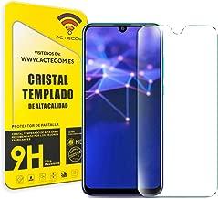 ACTECOM® Protector Pantalla para Huawei P Smart 2019 Cristal Vidrio Templado