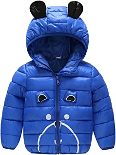 KINGWani ❤ Outwear Jacket for oddler Baby Girls Winter Cartoon Windproof Coat Hooded Warm for Toddler Child Long Sleeve Clothes Suits