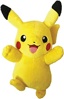 Bandai–Peluche 20cm Pikachu, 81222