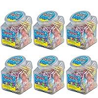 (6ポットまとめ買い)ランドアート クールMIXポット 410g x 6ポット 約900粒 塩飴 塩タブレット5兄弟 クールミックスポット