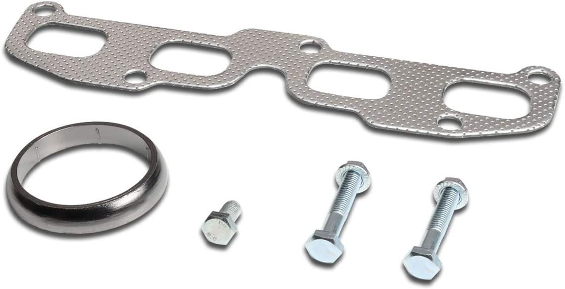Complete Free Shipping Aluminum Exhaust Manifold Header Gasket 02-0 Set Superior with Compatible