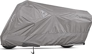 Dowco Guardian 51223-07 WeatherAll Plus Indoor/Outdoor Waterproof Motorcycle Cover: Grey, Cruiser