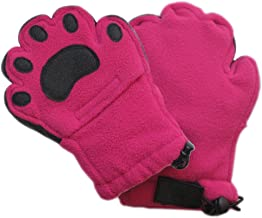 BearHands ThinsulateTM Fleece Mittens - with handy flap opening for when fingers are needed! (Child)