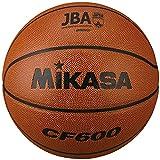ミカサ(MIKASA) バスケットボール 日本バスケットボール協会検定球 6号 (女子用・一般・社会人・大学・高校・中学) 人工皮革 茶 CF600