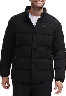 Men's Snap Front Puffer Jacket