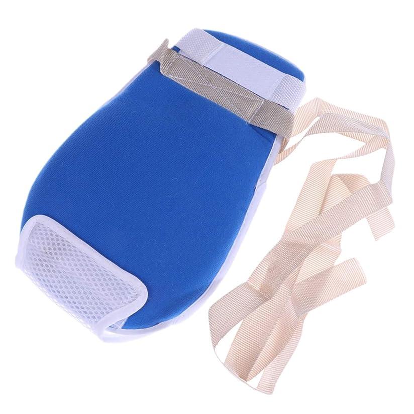 手術万歳ダーベビルのテスHealifty 制御手袋耐スクラッチ保護手袋(青)