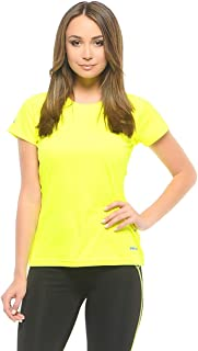 Puma Womens PWRCOOL Tee Yellow