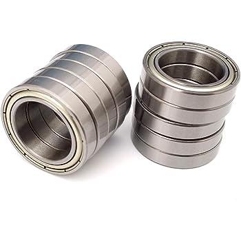 6007 35x62x14 mm Nylon Plastic PRECISION Ball Bearing Bearings QTY 5