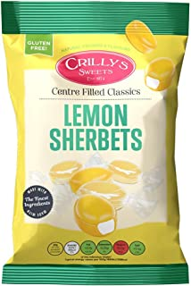 3 x Crillys Lemon Sherbets (160g) British Sweets/Candy
