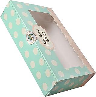 Lvcky Lot de 12 moules à gâteaux en papier pour cupcakes, gâteaux, pâtisseries, 20,3 cm