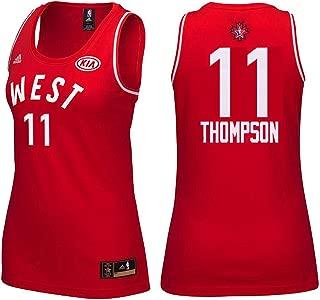 adidas Klay Thompson #11 Women's 2016 Toronto NBA All Star Game Jersey Red