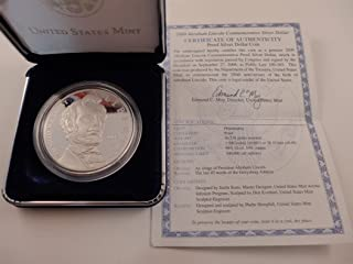 2009 lincoln proof silver dollar