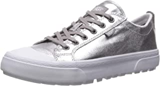 UGG Womens 1101917 Aries Metallic Silver Size: 6.5