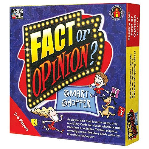 Edupress Fact or Opinion Game Red Level (EP60402)