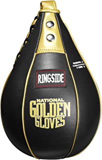 Ringside Golden Gloves Speed Bag, Black