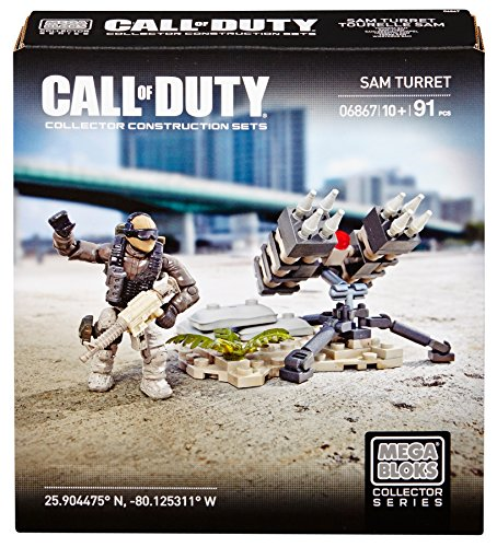 Call of Duty - Sam Turret Mega Bloks 06867