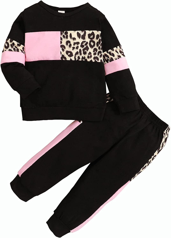 Tikoubabe Toddler Girl Clothes Infant Boy Fall Winter Outfits Cute Sweatshirt Pants 2 Pcs
