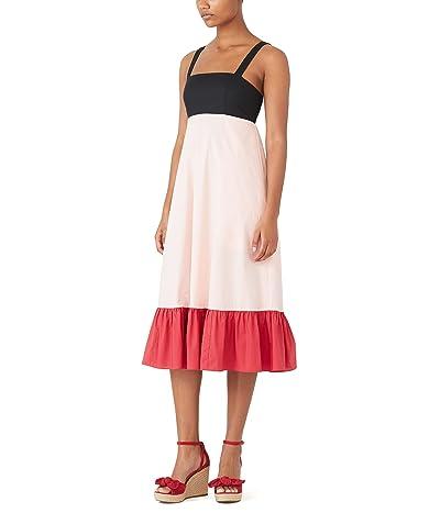 Kate Spade New York Color-Block Al Fresco Midi Dress