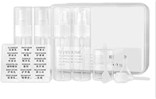 10PC Portable Travel Bottles Set TSA Approved Travel Size Toiletries Containers Leak Proof Travel Accessories for Liquid R...