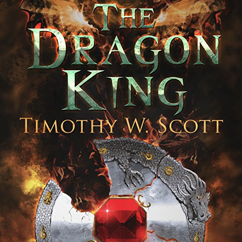 The Dragon King audiobook cover art
