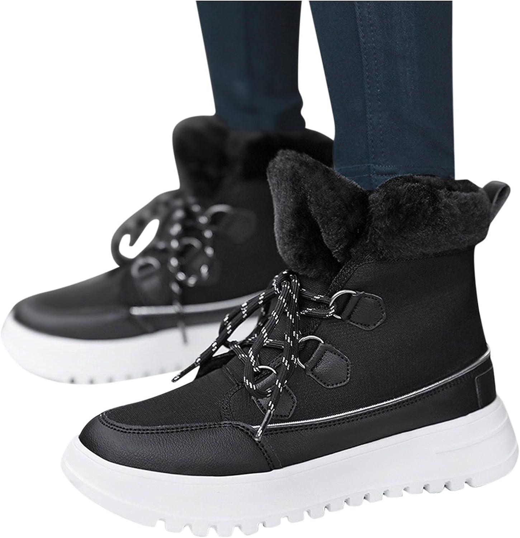 Crytech Women's Winter Mid Max 58% OFF Calf Snow Rare S Women Boots Non Retro for