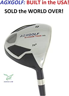 AGXGOLF Men's Magnum #9 Fairway Utility Wood wGraphite Shaft: Choose Length & Flex: Free Head Cover Built in The U.S.A!