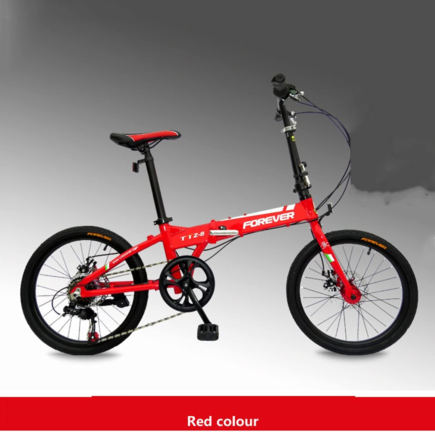 20inch 7speed Folding Bike,Ultralight Aluminum Frame Alloy Shimano Gears Foldable Bicycle For Commuter Men And Women Junior High School Students