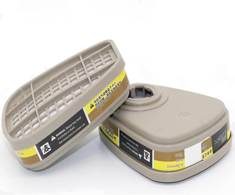6001 Filter Cartridges for Respirator - Dust-Proo Organic Vapor Award-winning store Super special price