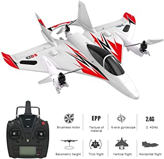 Womdee RC Helicopter 6 Channel Brushless Remote Control Aircraft, 3D/6G Multi-Mode Toy Airplane for Children Beginners Boys, Hover Flight Vertical Lift