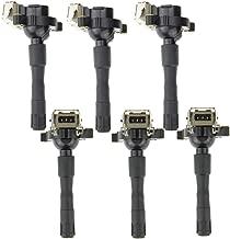 Set of 6 Ignition Coil for BMW E31 E36 E39 E46 E52 E53 323i 325i 328i 330i 525i 530i 740i M3 X5 Z3 Z8