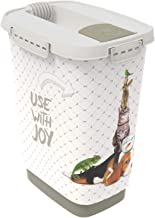 Rotho, Cody, , Kunststof (PP) BPA-vrij, antraciet/wit, 10l (24,3 x 17,9 x 32,2 cm)