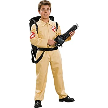 Ghostbusters tm Deluxe Costume & Inflatable Backpack. Size Medium ...