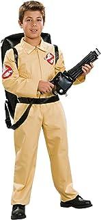 Rubie's Ghostbuster Deluxe Disfraz Infantil de con Blow Up Proton Pack, como se Muestra, Mediano