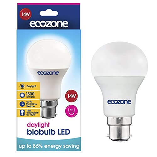 Ecozone LED Daylight B22 14W (100W Equivalent)